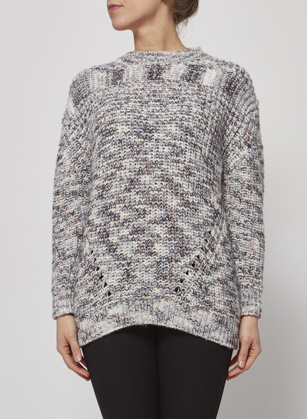 Rails COLORED HEATHER KNIT SWEATER