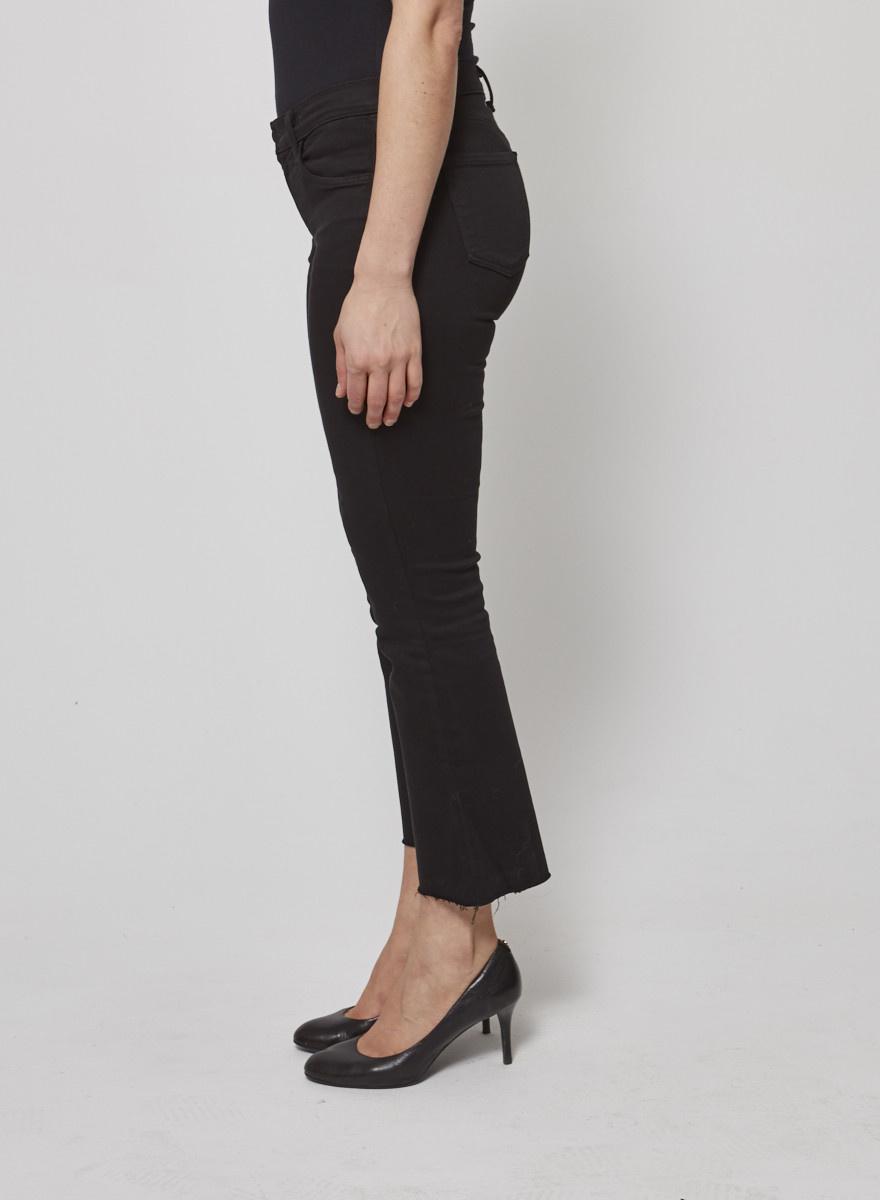 J Brand Selena Black Jeans