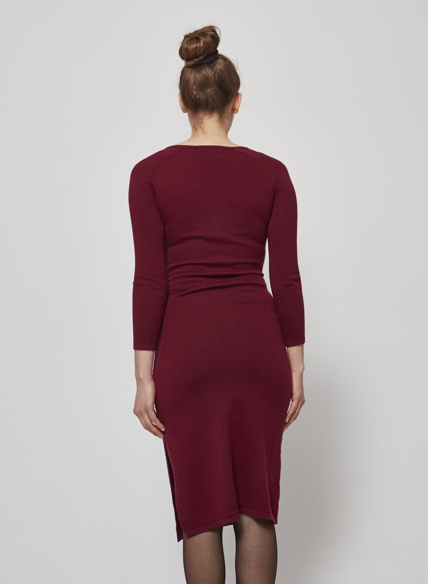 Heartloom BURGUNDY DRESS - NEW WITH TAG
