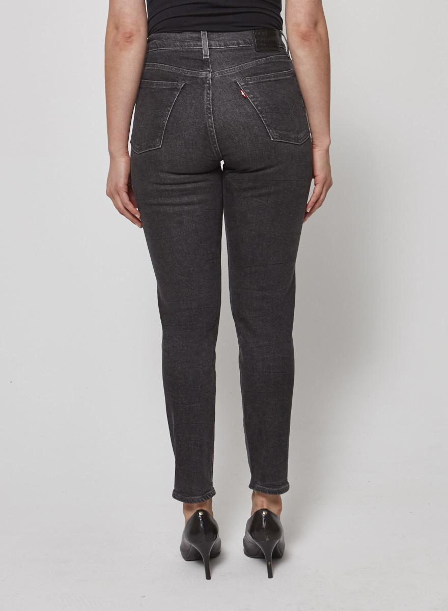 Levi's Black washed jeans