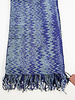 Missoni Blue & Purple Scarf - New with Tag