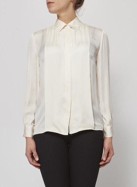 Dolce & Gabbana OFF-WHITE SILK BLOUSE