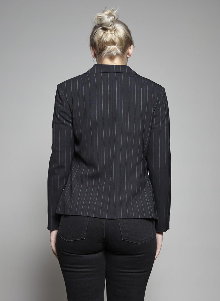 Dolce & Gabbana NEW PRICE (WAS $195) - BLACK AND WHITE STRIPED BLAZER