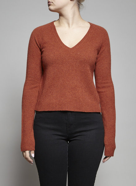 Theory RUST WOOL SWEATER