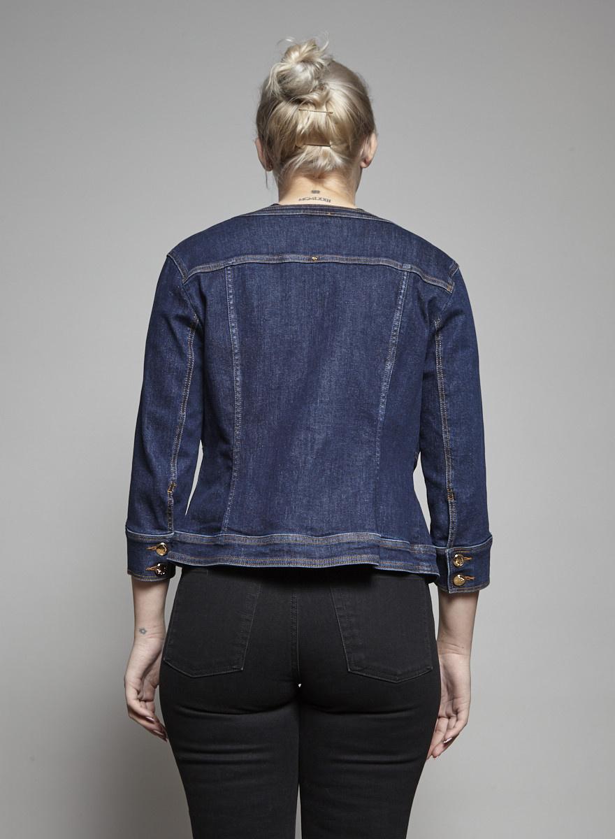 Ashley Graham x Marina Rinaldi Blue Denim Jacket