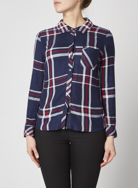 Rails BLUE & RED PLAID SHIRT