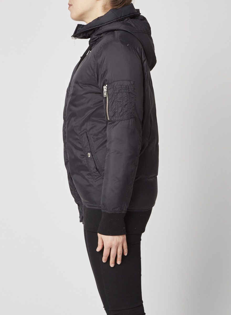 Iro Black Down Coat