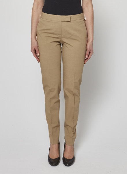 Paul Smith BEIGE COTTON-BLEND PANTS