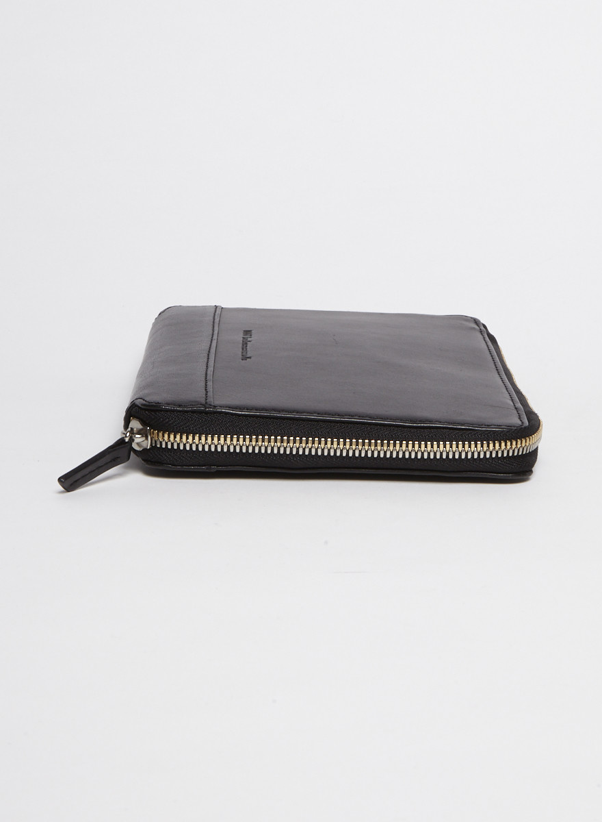 WANT Les Essentiels Black iPad Mini Leather Clutch Bag