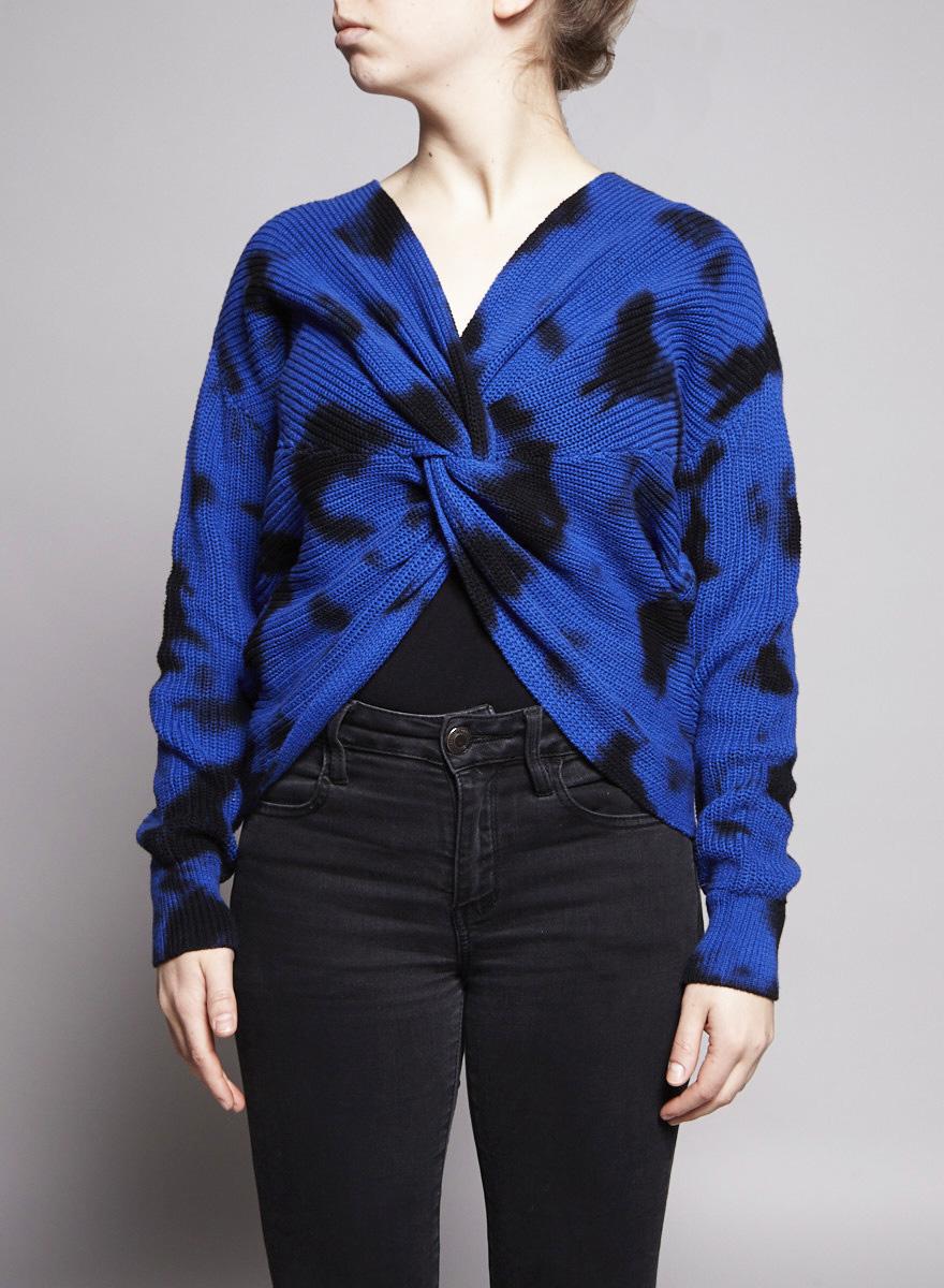 Elan Pull bleu et noir - Neuf avec étiquette