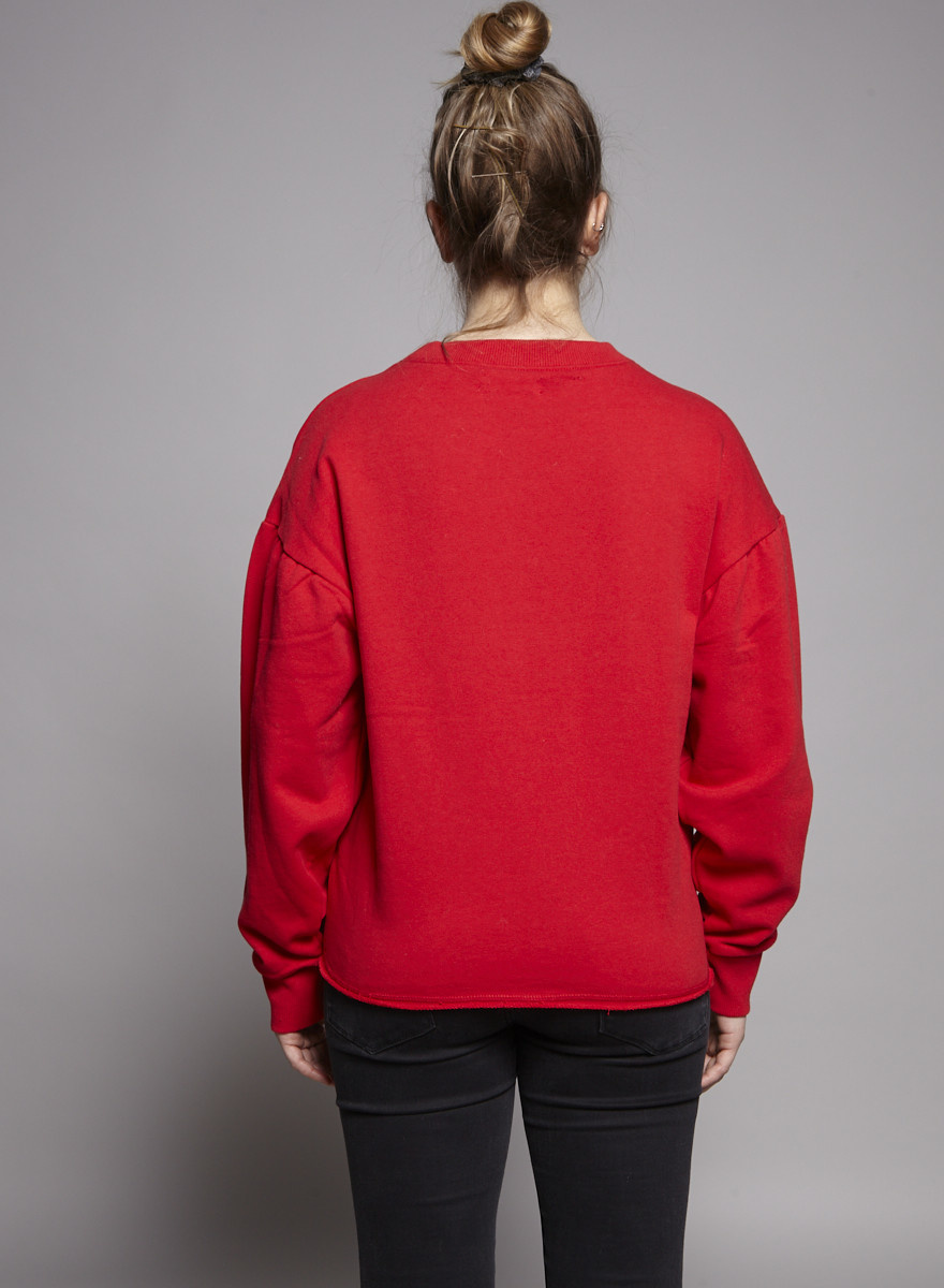 Elan RED SWEATER - NEW WITH TAG