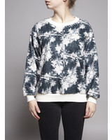 Sam & Lavi GREEN & OFF WHITE COURTNEY SWEATER - NEW WITH TAG