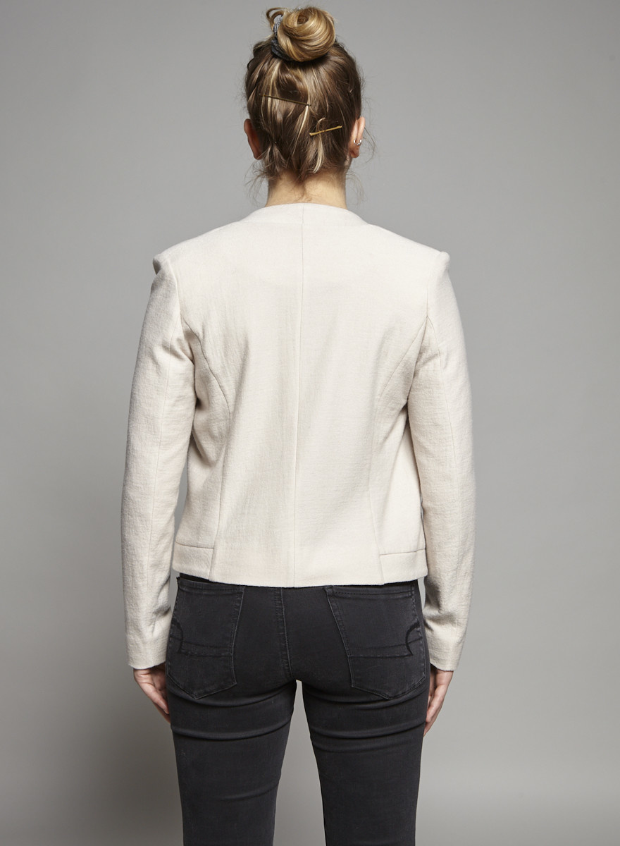 Filippa K Pale Pink Wool Jacket