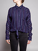 Rails Multicolor Striped Knotted Shirt
