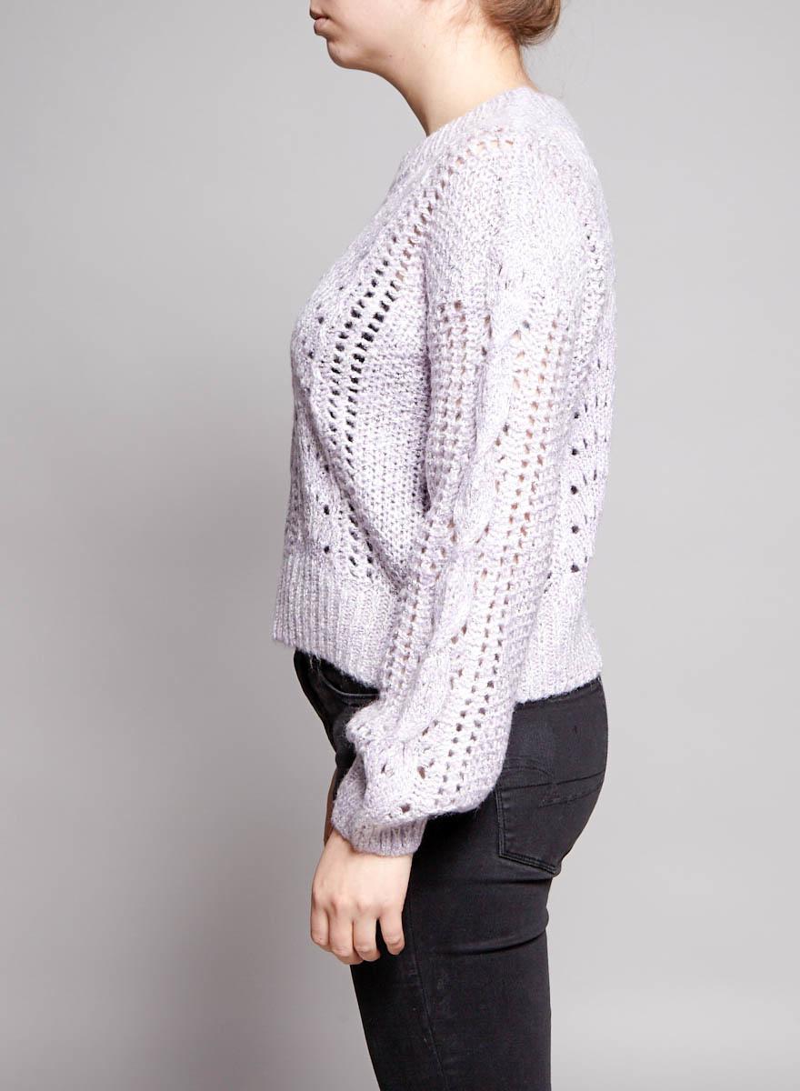 Heartloom Pull lilas en tricot