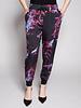 Diesel Pantalon noir style jogging à motif floral - Neuf