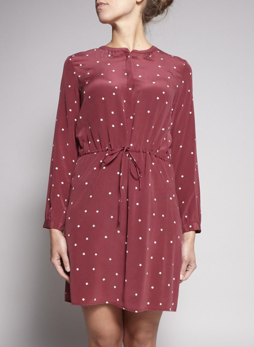 Rails Red Star Print Dress - Sample