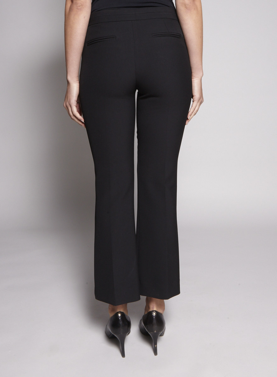 Tara Jarmon Black Flared Pants - New