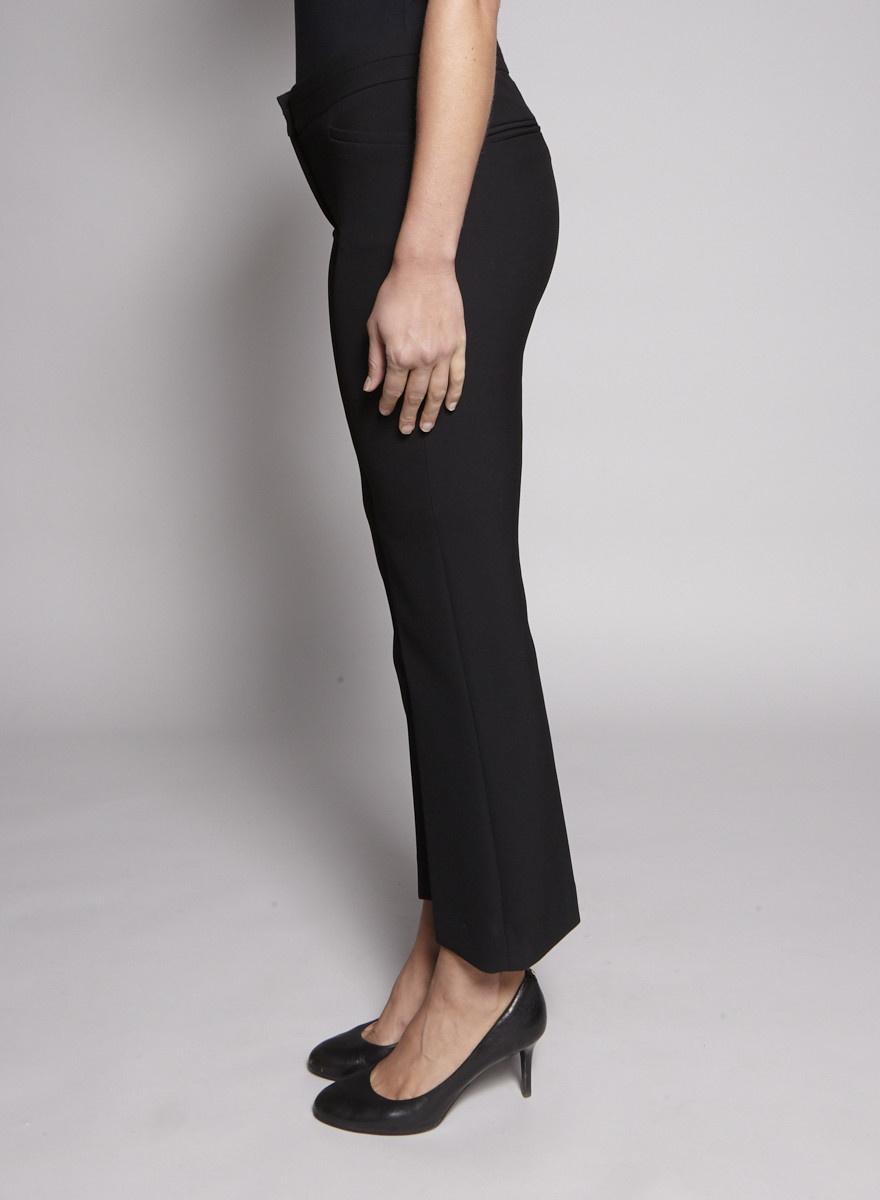 Tara Jarmon Pantalon noir à jambes évasées - Neuf