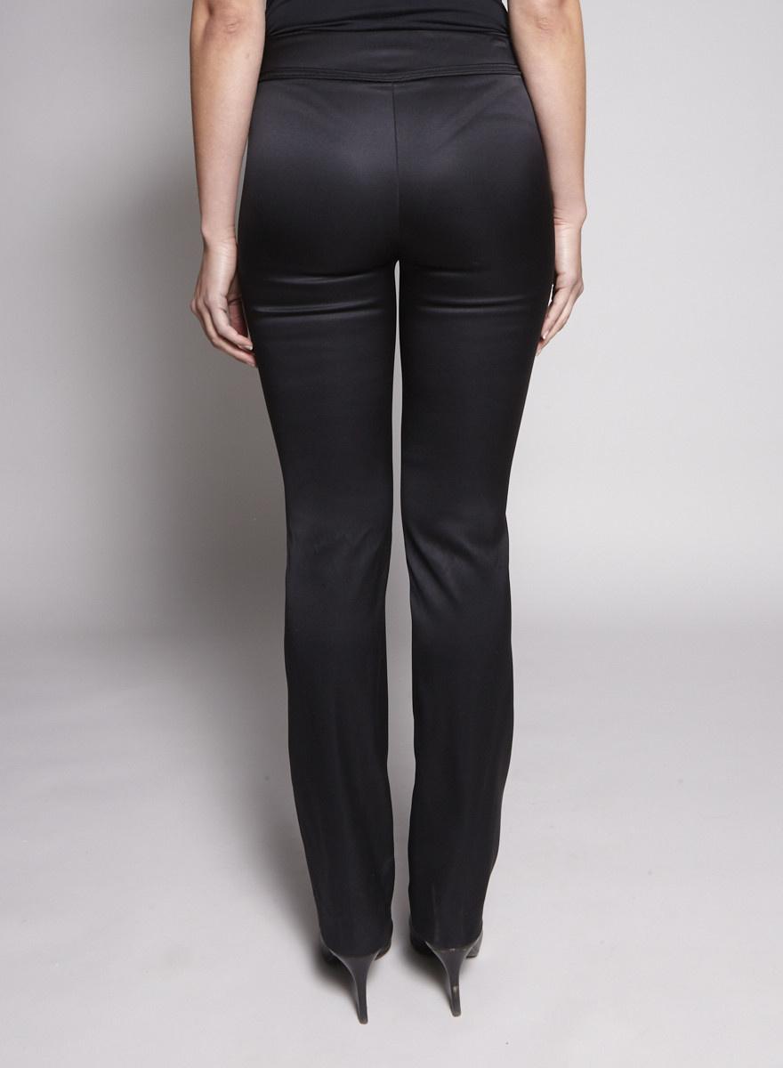Chanel Black Silk Pants