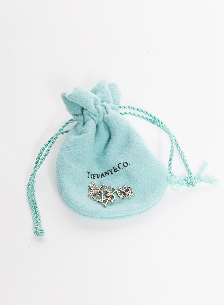 Tiffany & Co. Bracelet en argent sterling ''Love'' Graffiti de Paloma
