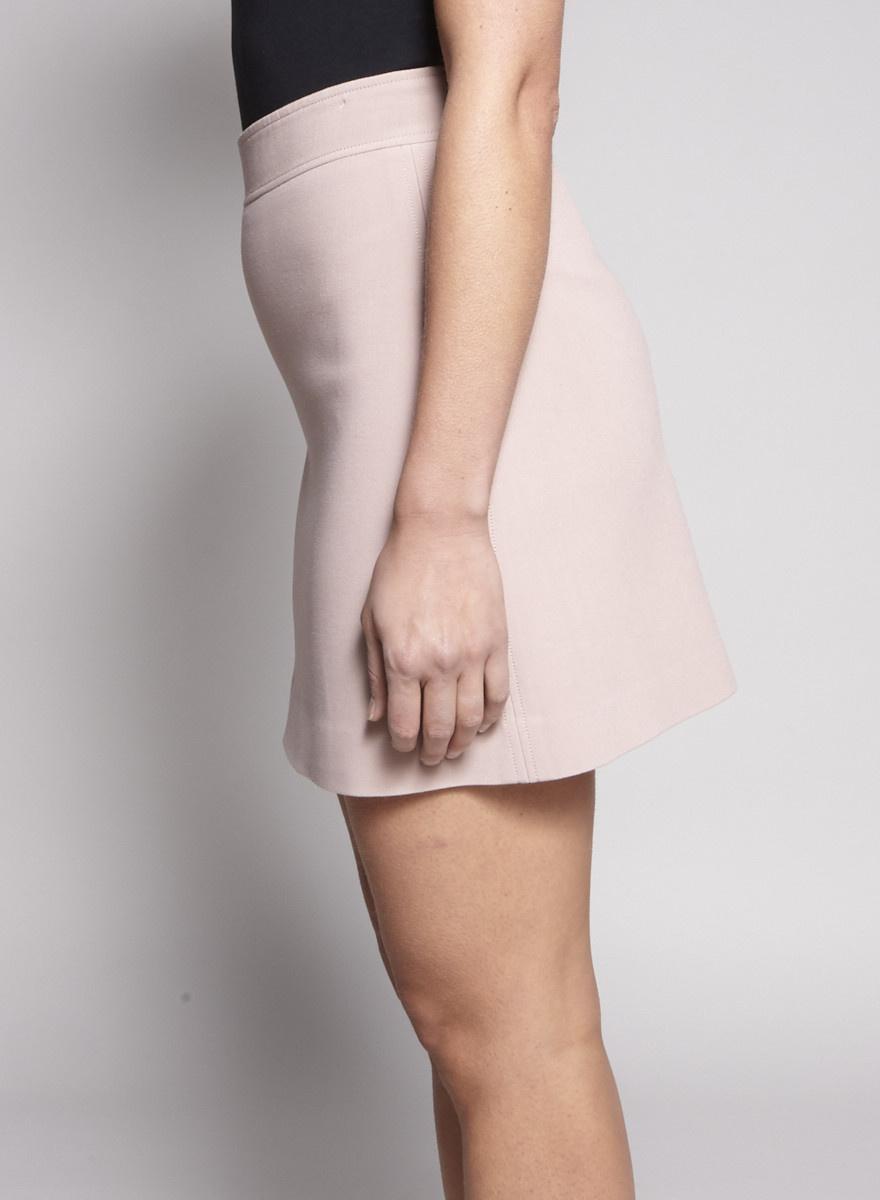 Theory Pink Mini Skirt