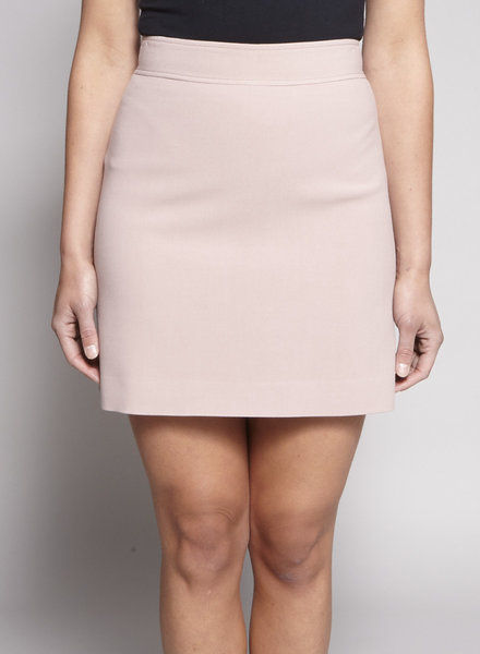 Theory PINK MINI SKIRT