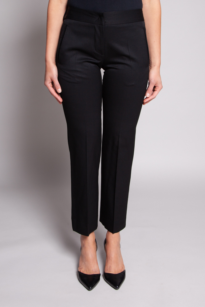 CoSTUME NATIONAL Black Wool Pants