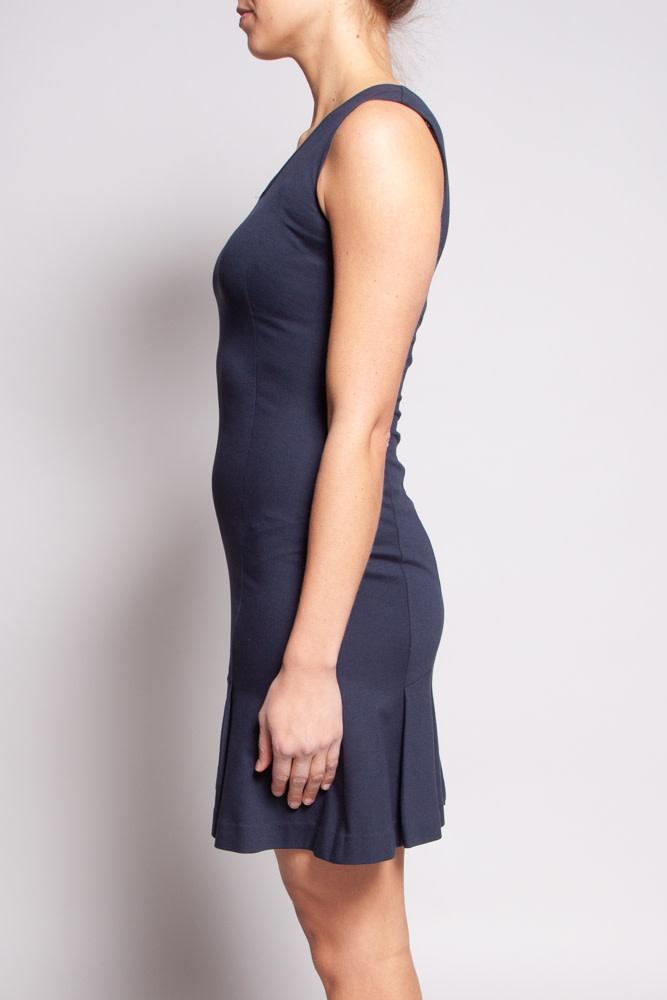 Theory Navy Blue Dress