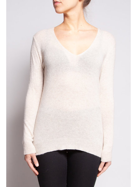 Theory PULL EN CACHEMIRE CRÈME