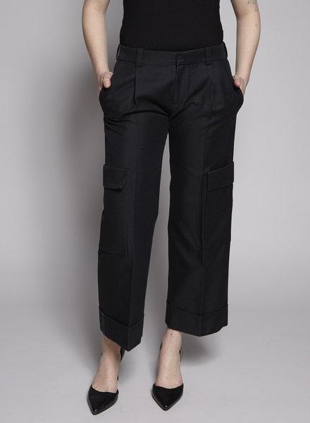 Balenciaga BLACK CARGO STYLE PANTS