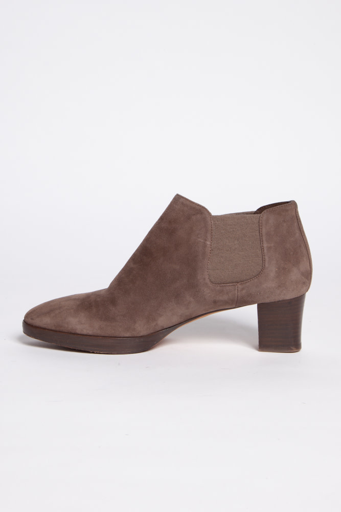 Mocha Suede Boots