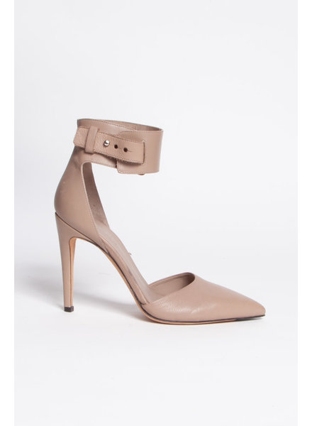 Vince TAUPE LEATHER HEELS