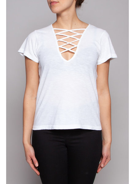 LNA WHITE T-SHIRT