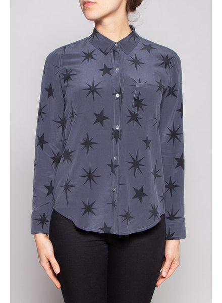 Rails GREY BLOUSE WITH STARS PRINT
