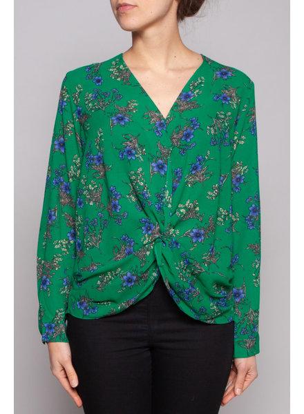 Heartloom GREEN FLORAL-PRINT DRESS - NEW