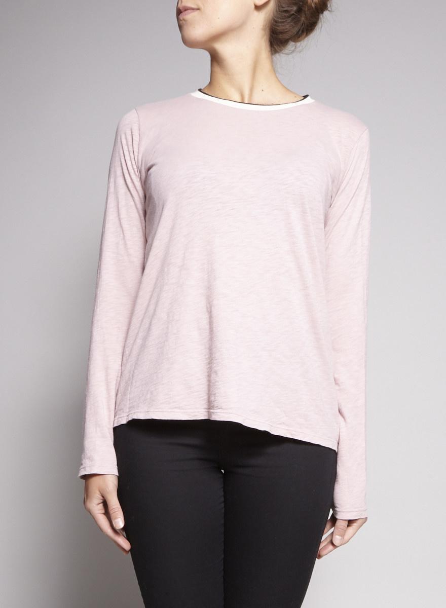 Velvet by Graham & Spencer Pink Cotton Top