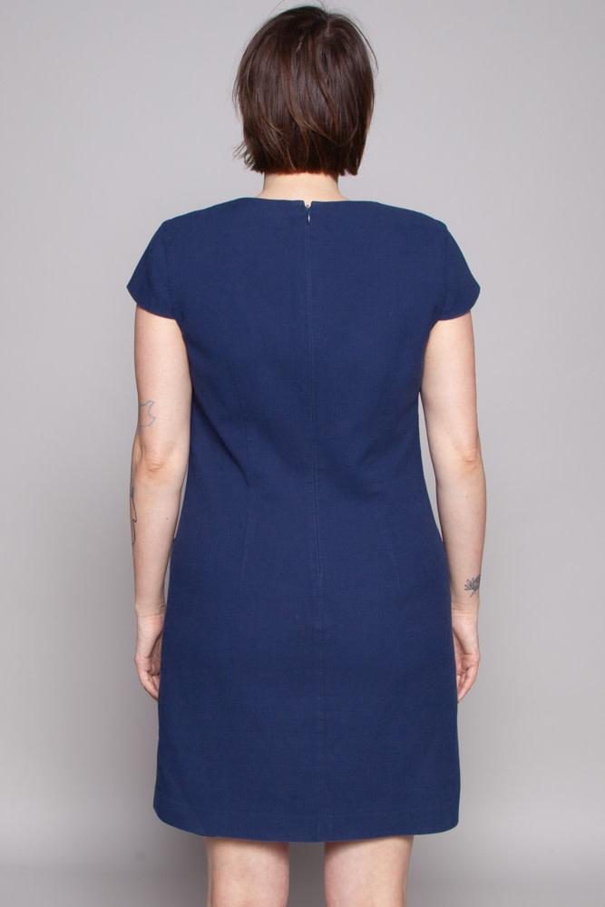 Theory Dark Blue Dress