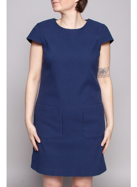 Theory DARK BLUE DRESS