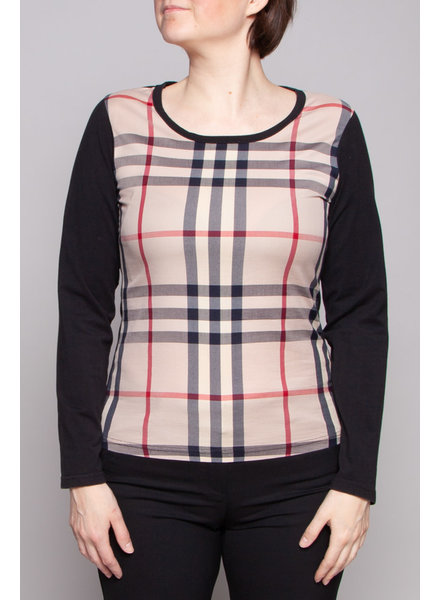 Burberry Brit BURBERRY CHECKED TOP