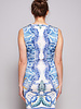 Just Cavalli Sleeveless Dress with Poseidon Print