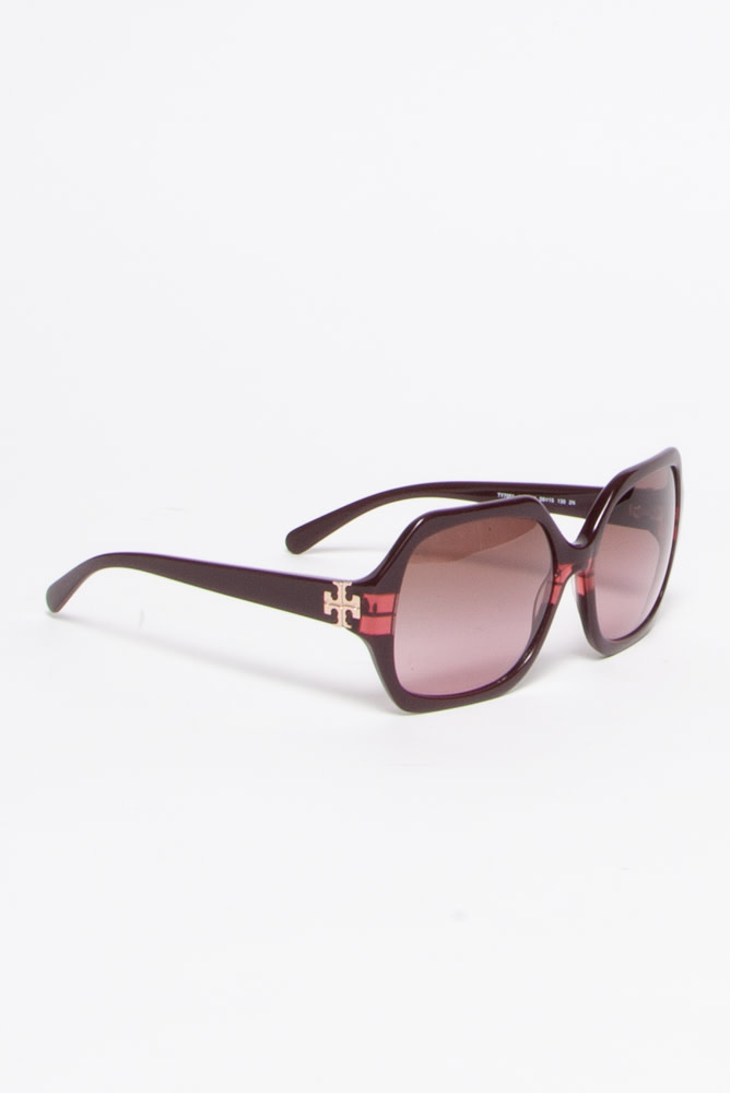 Tory Burch RED-TINTED SUNGLASSES