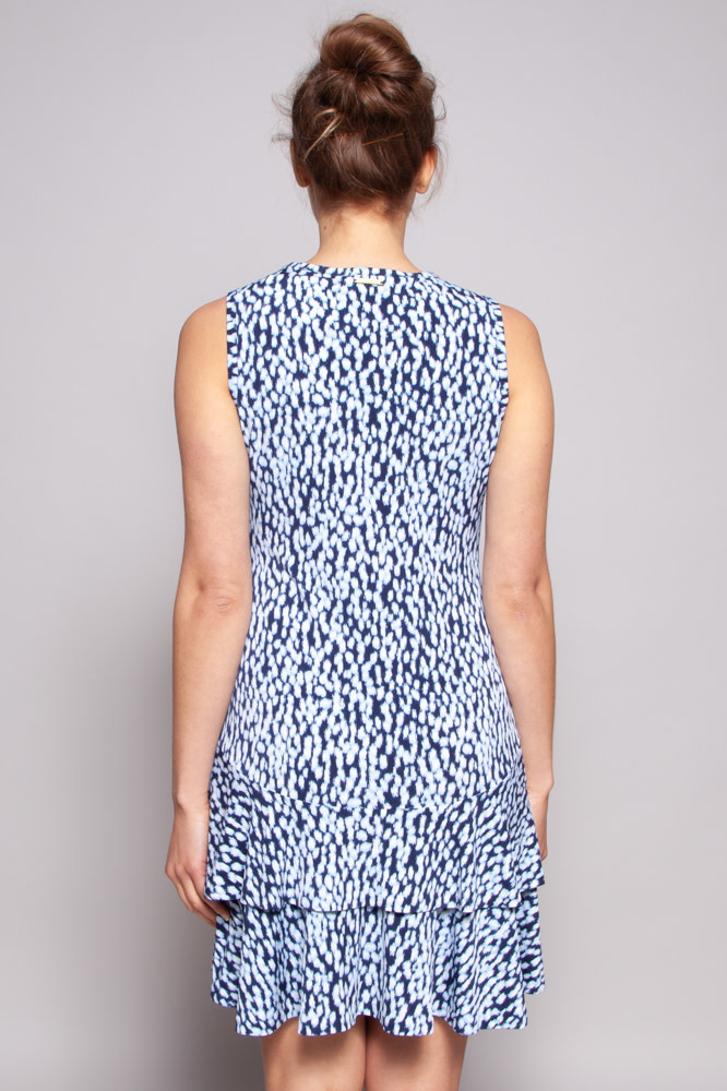 MICHAEL Michael Kors Blue-Print Dress