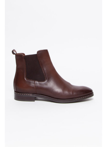 Ateliers BROWN LEATHER CHELSEA BOOTS