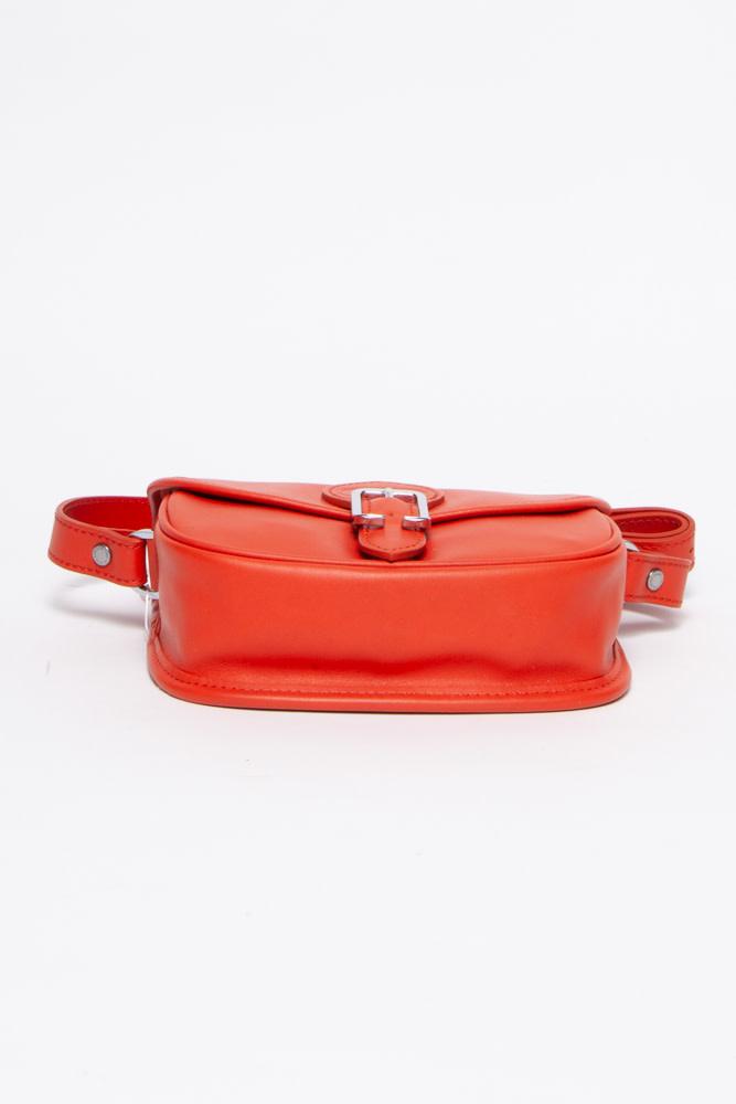 Longchamp Orange Leather Bag - New