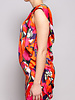 Ted Baker RED FLORAL-PRINT DRESS