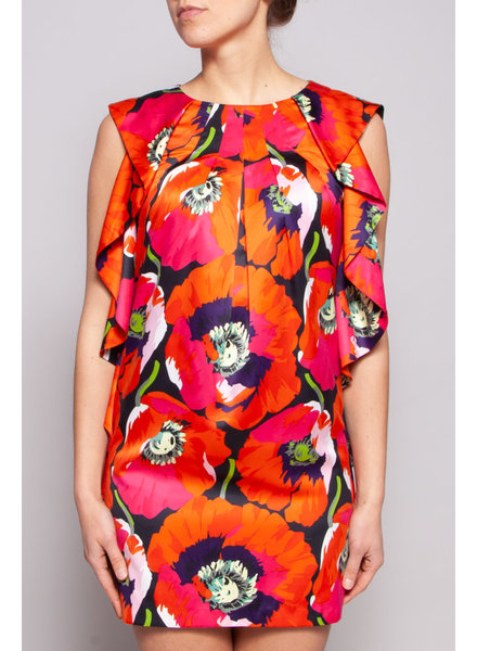 Ted Baker ROBE MULTICOLORE FLEURIE