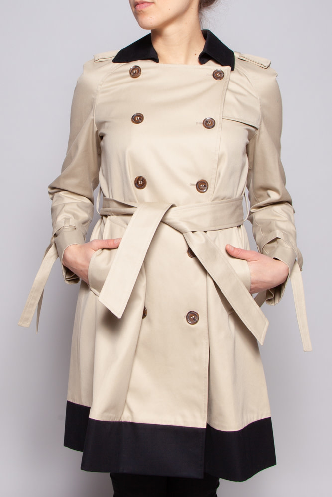 Red Valentino Trench beige coupe en A