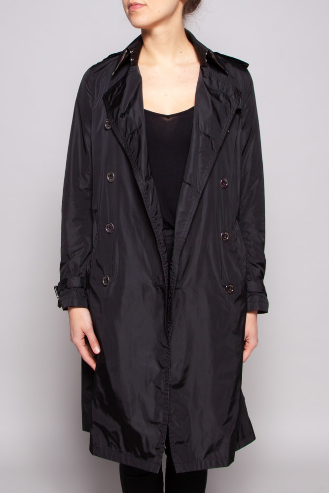 Burberry Black Trench