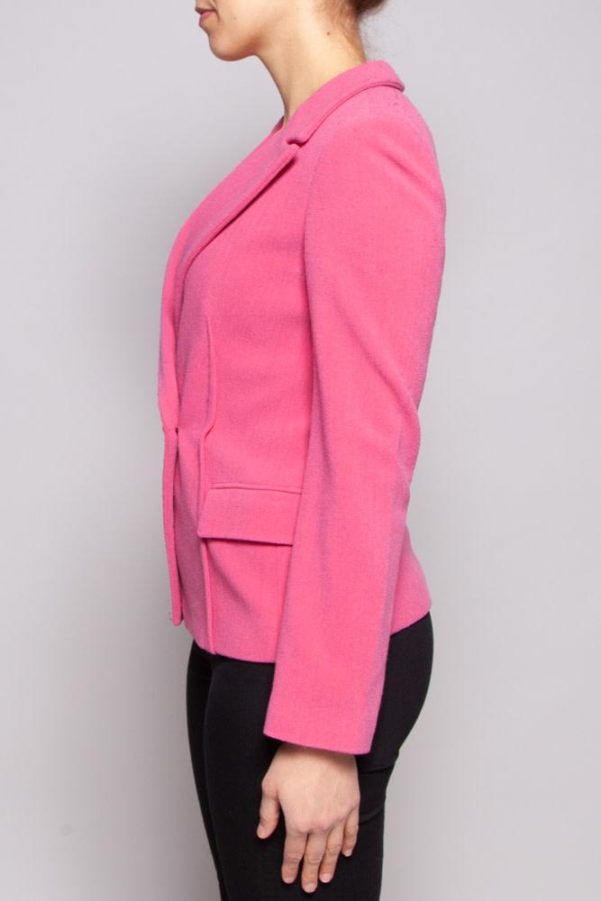 Giorgio Armani Pink Wooken Blazer